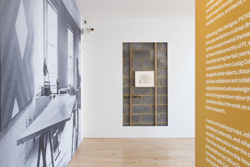 P!, 170927-Picker-2 PART I: Elaine Lustig Cohen: Looking Backward to Look Forward (2017) installation view at Stanley Picker Gallery. Photography Plastiques