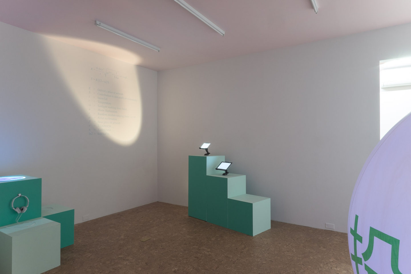 P!, Wong Kit Yi: North Pole Futures, installation view, 2015