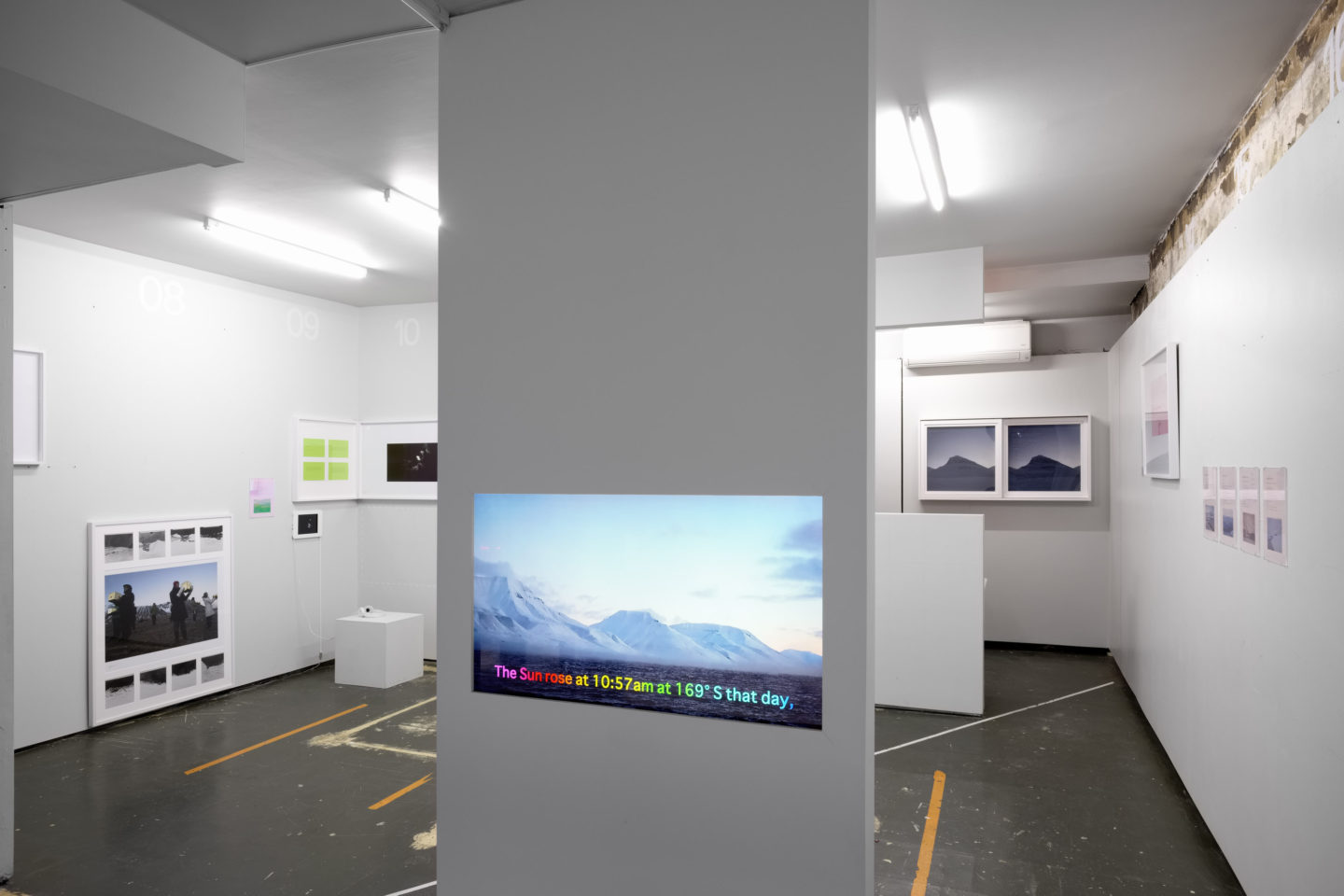 P!, Futures_Again_DSF9595_v1_Low_Res Installation view, A River in the Freezer, 2017