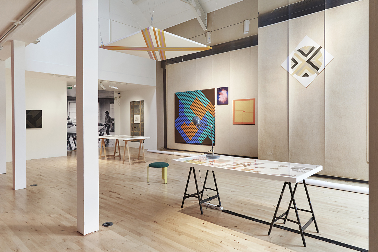P!, P!CKER 12_1280px PART I: Elaine Lustig Cohen: Looking Backward to Look Forward (2017) installation view at Stanley Picker Gallery. Photography Plastiques