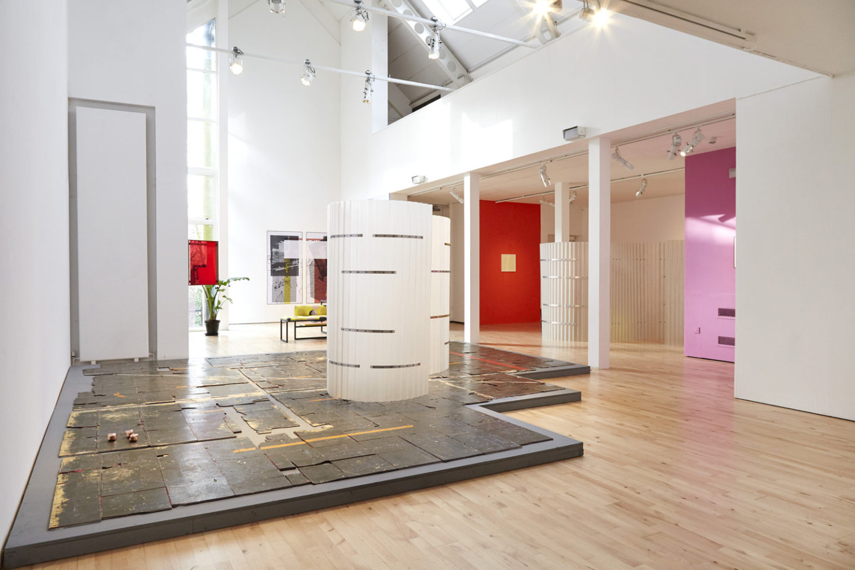 P!, P!CKER2. 2 PART II Céline Condorelli: Prologue (2017) installation view at Stanley Picker Gallery. Photography Corey Bartle-Sanderson