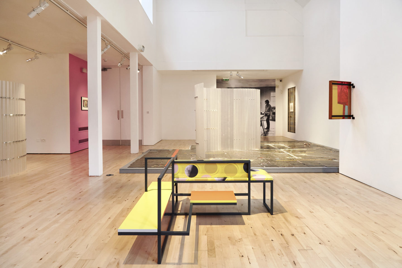 P!, P!CKER2. 22 PART II Céline Condorelli: Prologue (2017) installation view at Stanley Picker Gallery. Photography Corey Bartle-Sanderson