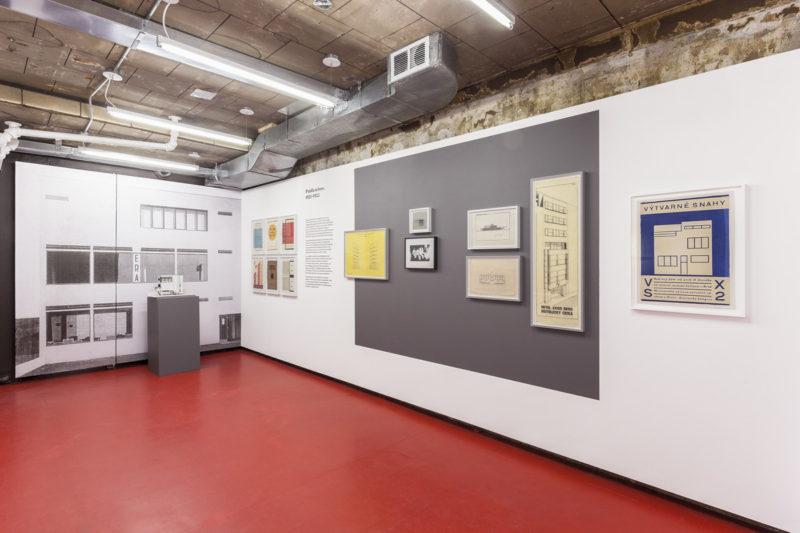 P!,  Exhibition view featuring Katarina Burin