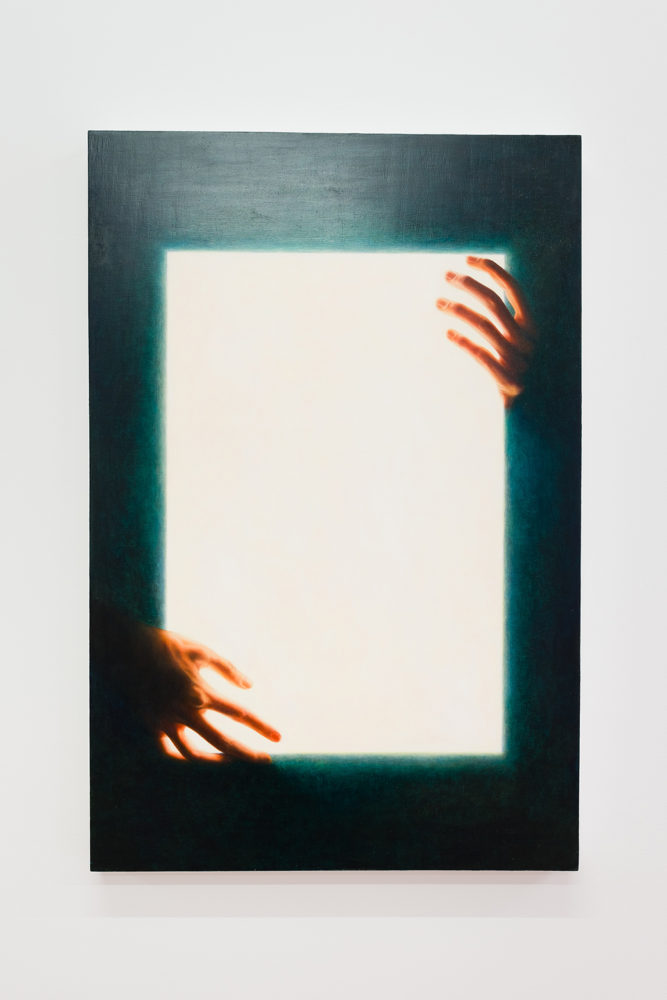 P!,  Colleen Asper, {lightbox, hands}, 2015