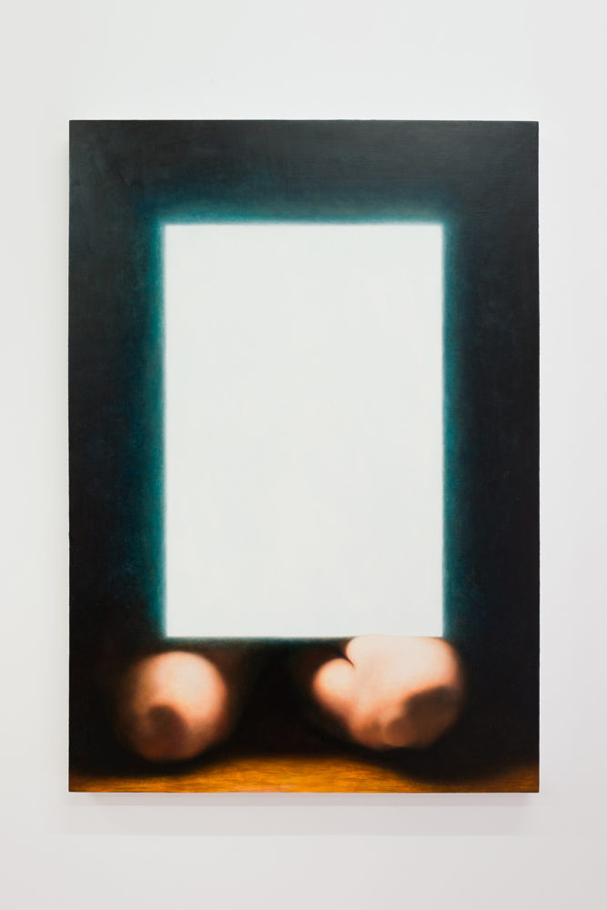 P!,  Colleen Asper, {lightbox, knees}, 2015