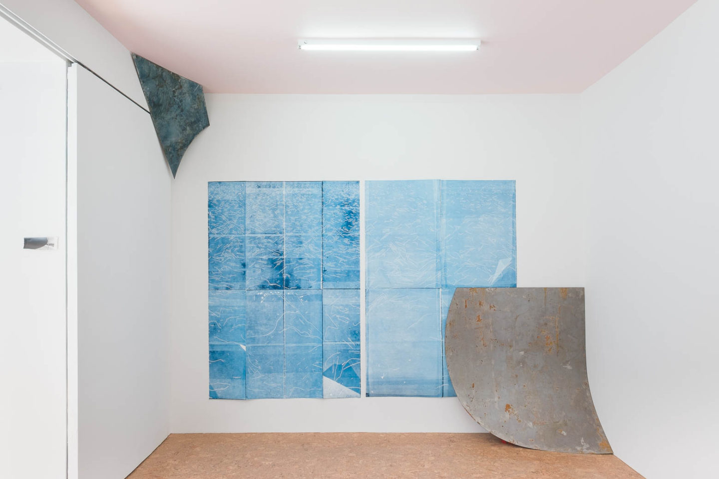 P!, Aaron Gemmill and Matthew Schrader: Tactile Pose, installation view