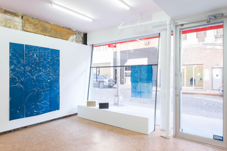 P!, Aaron Gemmill and Matthew Schrader: Tactile Pose, installation view