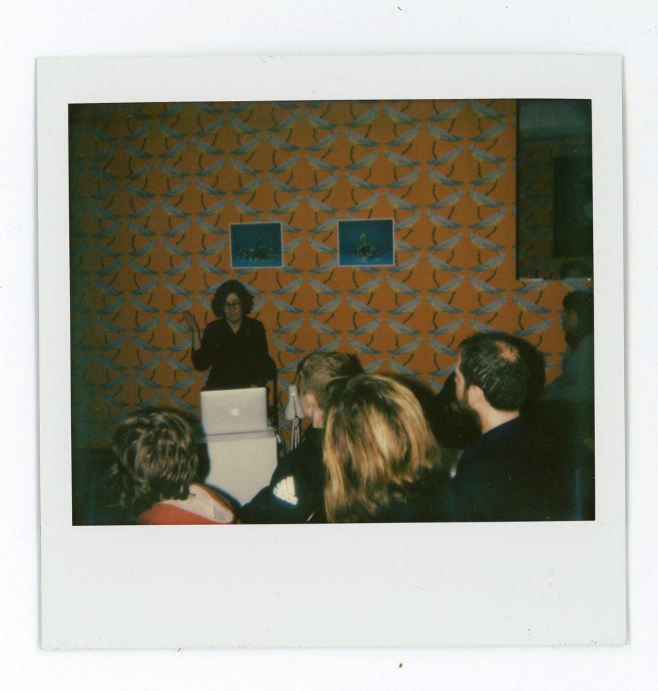 P!, we_are_the_(epi)center_Weir001 Polaroid from Grace Weir Film screening and Artist's talk